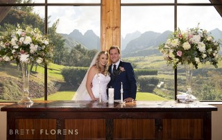 cath peak wedding couple